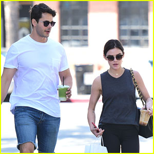 Lucy Hale & Jayson Blair Get In Sibling Bonding Time
