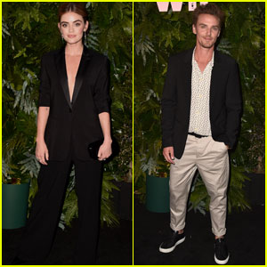 Lucy Hale & Riley Smith Celebrate Max Mara's Face of the Future 2018!