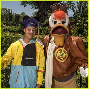 Marcus Scribner Celebrates High School Graduation at Disney World