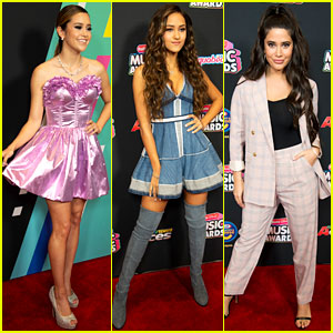 Megan Nicole, Skylar Stecker, & Symon Show Off Their Styles at Radio Disney Music Awards 2018