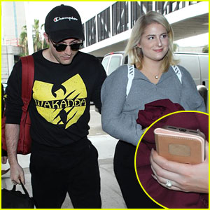 Meghan Trainor & Fiance Daryl Sabara Head Out of Town for His Birthday!