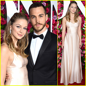 Melissa Benoist Brings Boyfriend Chris Wood to Tony Awards 2018!