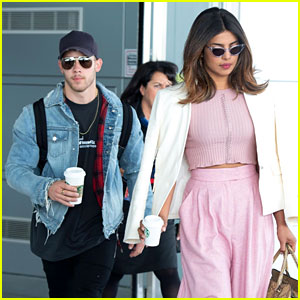 Nick Jonas & Priyanka Chopra Touch Down in NYC Together