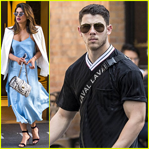 Nick Jonas Joins Priyanka Chopra for Dinner in NYC