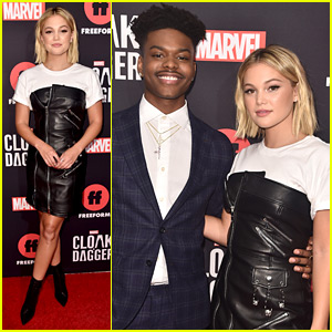 Olivia Holt & Aubrey Joseph Detail Their Audition For 'Marvel's Cloak & Dagger'