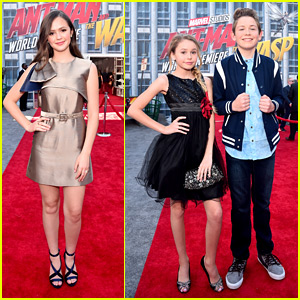 Olivia Sanabia Joins 'Coop & Cami Ask The World' Cast at 'Ant-Man & The Wasp' Premiere!