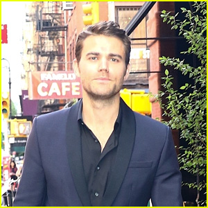 Paul Wesley Looks Sharp in a Suit in NYC!