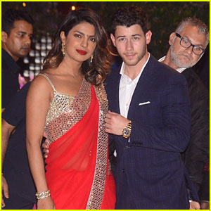 Nick Jonas Suits Up with Priyanka Chopra at Engagement Party in India