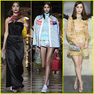 Rowan Blanchard Can't Believe She Opened Miu Miu Runway Presentation