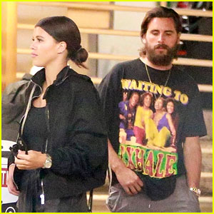 Sofia Richie Slays in Chic Black Outfit for Lunch Date With Scott Disick