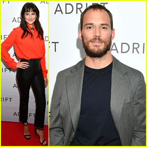 Shailene Woodley Joins Sam Claflin For 'Adrift' London Screening