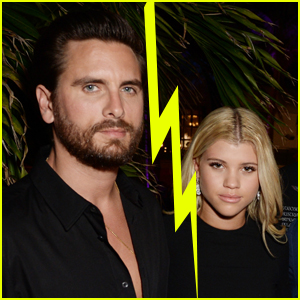 Sofia Richie Splits with Scott Disick