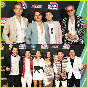 The Vamps Join JAGMAC, New Hope Club, & CB30 at Radio Disney Music Awards 2018!