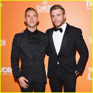 Olympic Stars Adam Rippon & Gus Kenworthy Team Up to Host TrevorLIVE New York Gala 2018!