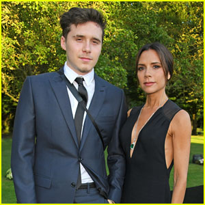 Brooklyn Beckham Joins Mom Victoria at Elton John Charity Event!