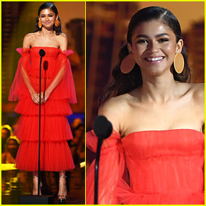 Zendaya Stuns in Second Red-Hot Look at MTV Movie & TV Awards 2018!