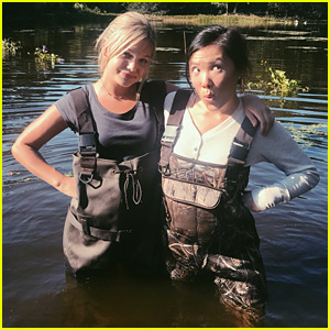 Cloak & Dagger's Olivia Holt & Ally Maki Gush Over Each Other On Twitter