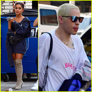 Ariana Grande & Pete Davidson Step Out Separately in NYC