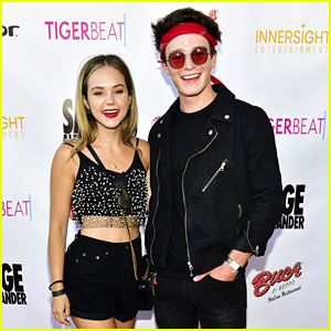 Brec Bassinger & Dylan Summerall Couple Up for 'Sage Alexander' Launch Party!