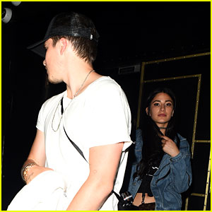 Brooklyn Beckham Parties the Night Away with Girlfriend Lexy Panterra