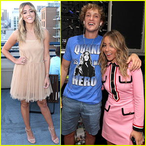 Chloe Bennet & Logan Paul Couple Up at Comic-Con 2018!