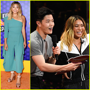 Chloe Kim Wins Blimp at Kids' Choice Sports Awards 2018!