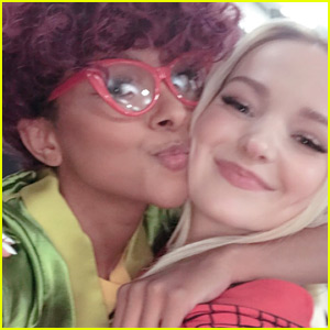 Dove Cameron Cosplayed at San Diego Comic Con 2018 with Kat Graham!