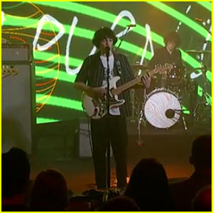 Finn Wolfhard's Band Calpurnia Performs 'City Boy' & 'Greyhound' on 'Jimmy Kimmel Live'