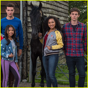 'Free Rein' Stars Jaylen Barron & Bruce Herbelin-Earle Confirm Season 3 IS Happening