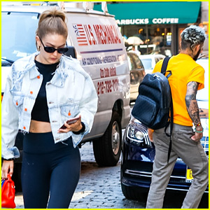 Gigi Hadid & Zayn Malik Step Out in NYC