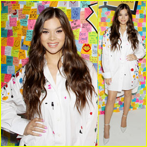 Hailee Steinfeld Is Ready to Inspire Students at Post-It Event in New York City!