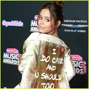 Jenna Ortega Was Surprised By The Responses She Got About Her 'I Really Do Care' Jacket at RDMAs 2018