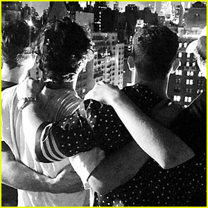 The Jonas Brothers Hang Out Together for the 4th of July - See Their Group Pic!