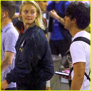Sophie Turner & Fiance Joe Jonas Head to NYC Together!