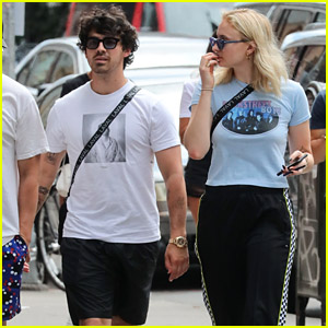Joe Jonas & Sophie Turner Spend the Day Together in the City!