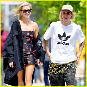 Justin Bieber & Hailey Baldwin Show Off Their Styles in the Big Apple