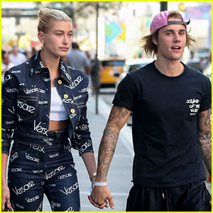 Justin Bieber Holds Hands with Hailey Baldwin After Sushi Date