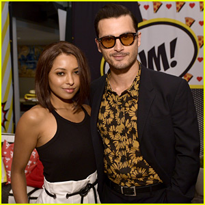 Kat Graham Reunites With Michael Malarkey & Our Bonenzo Hearts Are Exploding With Joy