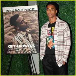 Keith Powers Celebrates His 'Men's Fashion Post Magazine' Cover