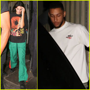 Kendall Jenner & Ben Simmons Get Dinner With Friends in LA