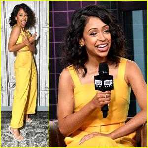 Liza Koshy Wears Bright Yellow For NYC Appearances