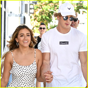 Logan Paul Writes Love Note To Girlfriend Chloe Bennet