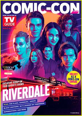 'Riverdale' Announces Set Visit Contest, Comic-Con Keycards & TVGuide Cover!