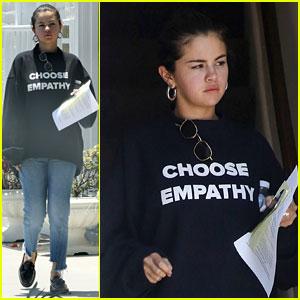 Selena Gomez Says to 'Choose Empathy'
