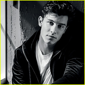 Shawn Mendes Poses for B&W Pics Featured in New Emporio Armani Campaign