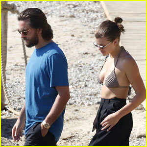 Sofia Richie Is On Summer Vacation in Greece with Scott Disick