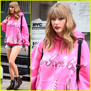 Taylor Swift Flashes More Leopard-Print Ahead of Second 'Reputation Tour' Show in New Jersey!