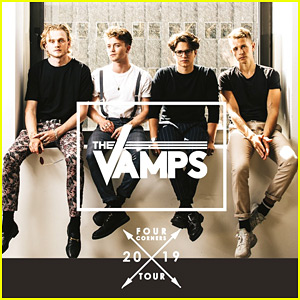 The Vamps Announce Official 'Four Corners' Tour Dates & Debut First Look at 'Just My Type' Video!