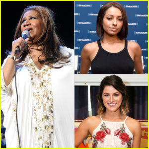 Kat Graham, Cassadee Pope & More Young Celebs Pay Tribute To Aretha Franklin