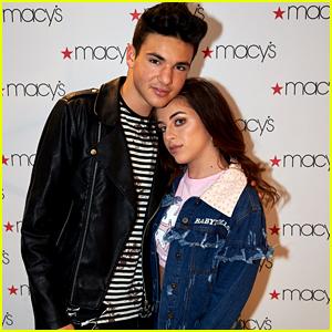 Baby Ariel & Daniel Skye Host Back To School Event at Macy's in New York City